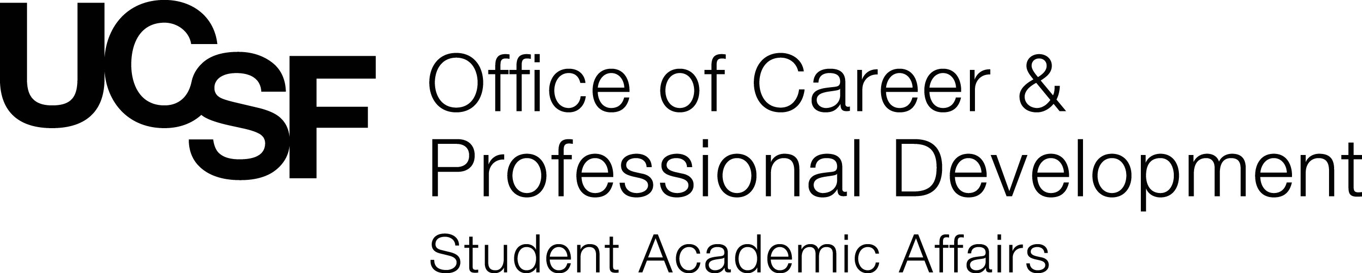 UCSF Logo for Career and Professional Development