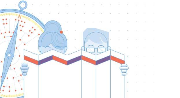 Background illustration for slider